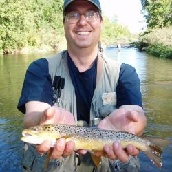 Fly Fishing in Colorado-Small Waterdale River Catch-Kirk's Flyshop