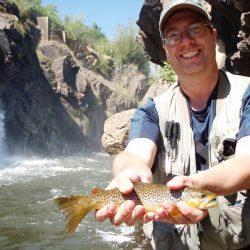 Fly Fishing in Colorado-Waterdale Waterfall Catch-Kirk's Flyshop