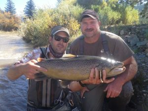 Fly Fishing In Colorado-Huge Brown Catch-Kirk's Fly Shop