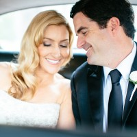 Smile brightly with your wedding makeup in Austin.