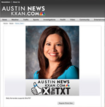 Check out our feature makeup artists in Austin at KXAN.com!