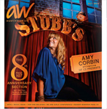 Our makeup artists are featured in AW Stubb's in Austin.