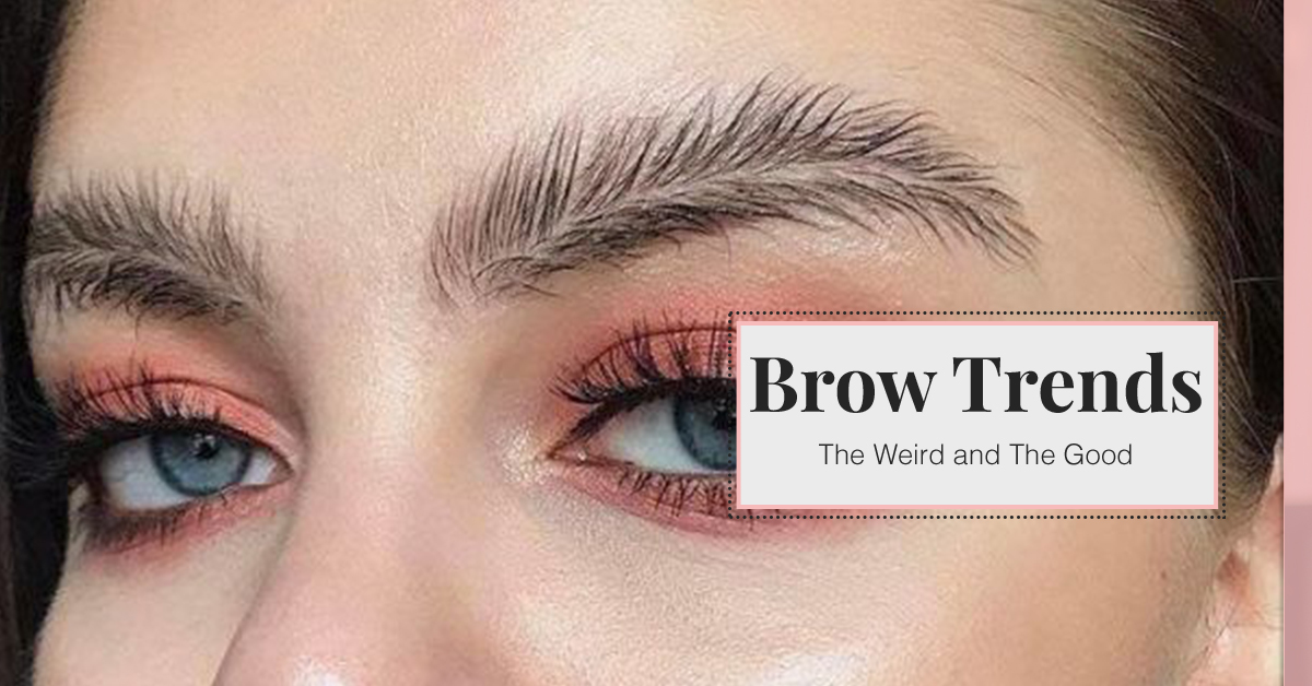 Eyebrow Shaping Austin Brow Trends The Weird And The Good