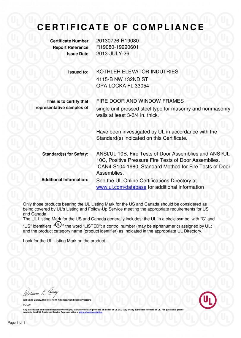 Microsoft Word - R19080-19990601-CertificateofCompliance