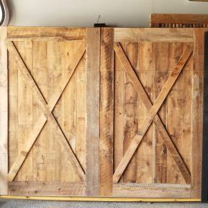 Barnwood Garage Doors