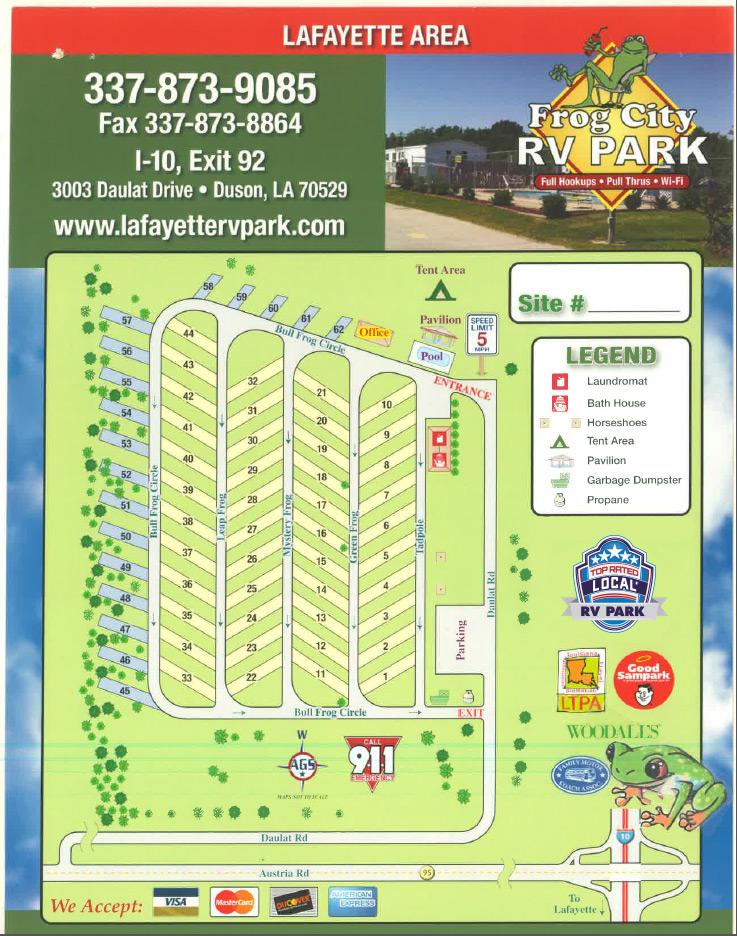 Lafayette Campground | Camping Near Lafayette | RV Parks Lafayette