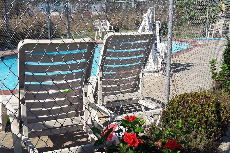 RV Park Swimming Pool & Chairs