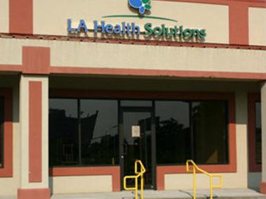 LA Health Solutions new orleans entrance