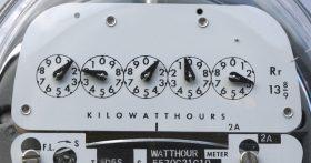 Utility meter.