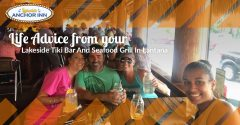 Life Advice From Your Lakeside Tiki Bar And Seafood Grill In Lantana