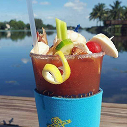 Anchor Inn Tiki Bar & Grille - Seafood - Restaurant - Lake Worth - Lantana - Tropical Drinks