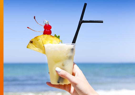 Anchor Inn Tiki Bar & Grille - Seafood - Restaurant - Lake Worth - Lantana - Tropical Drinks
