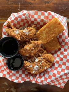 Lakeside Anchor Inn - Chicken and Waffles