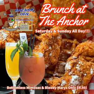 Lakeside Anchor Inn Brunch Saturday and Sunday