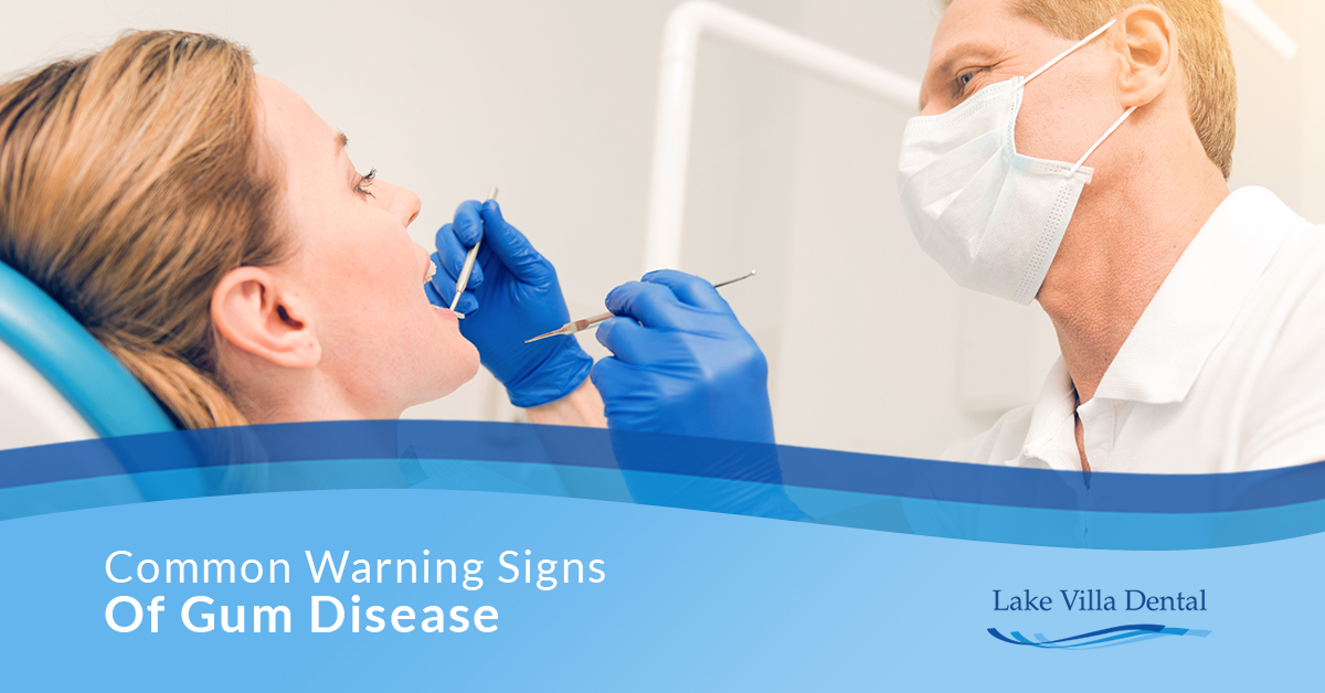 Common Warning Signs Of Gum Disease