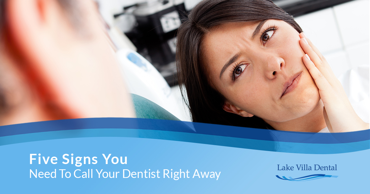Five Signs You Need To Call Your Dentist Right Away