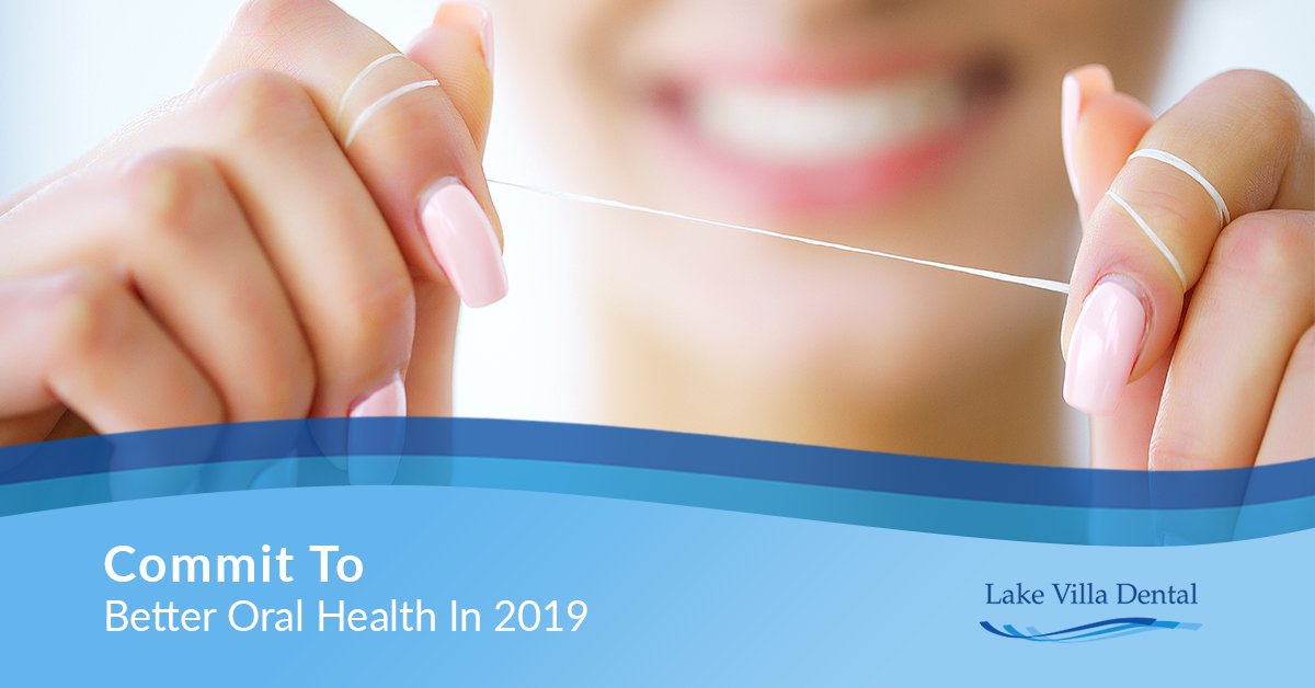 Commit To Better Oral Health In 2019