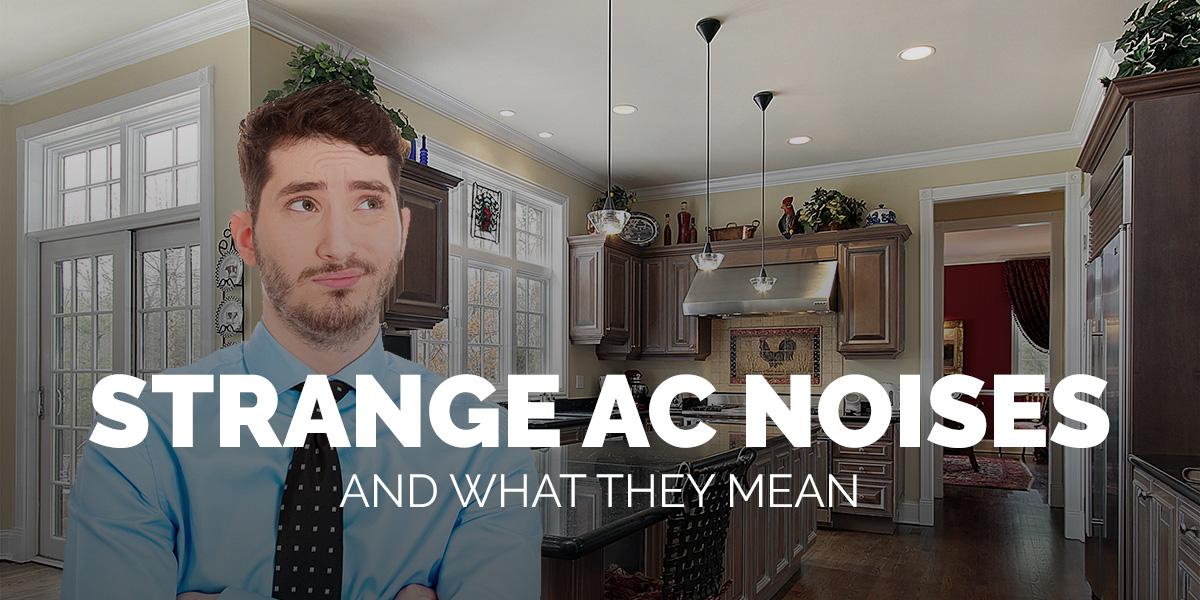 Air Conditioning Service Merrimack Valley: Strange AC Noises