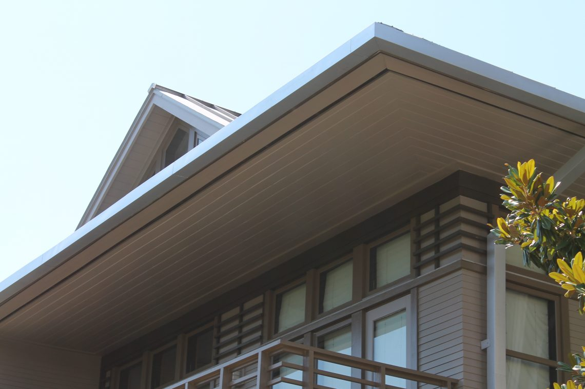 Custom box gutters on 30A