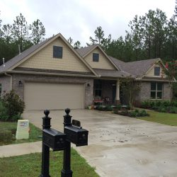 New Gutters on Hammock Bay Home