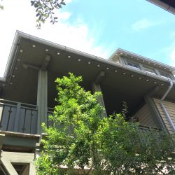 New Half-Round Gutters Install in Rosemary Beach