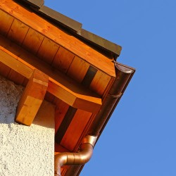 Copper Half-Round Gutters Installation