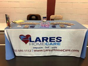 Lares Home Care Participates in Job Fair