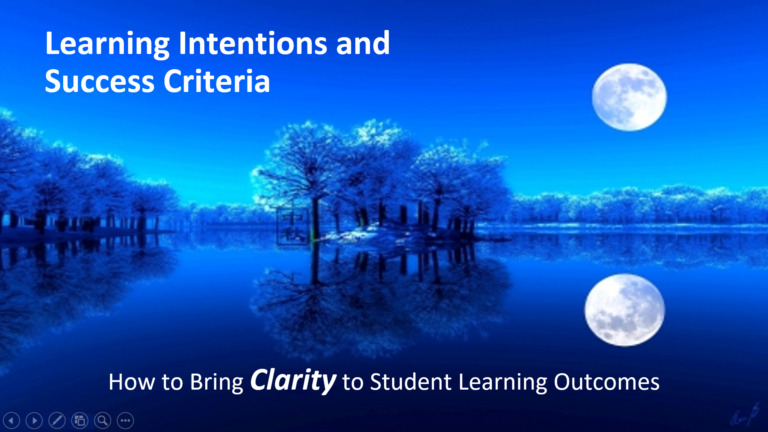 The Clarity Problem—And The TEACHER SOLUTION!
