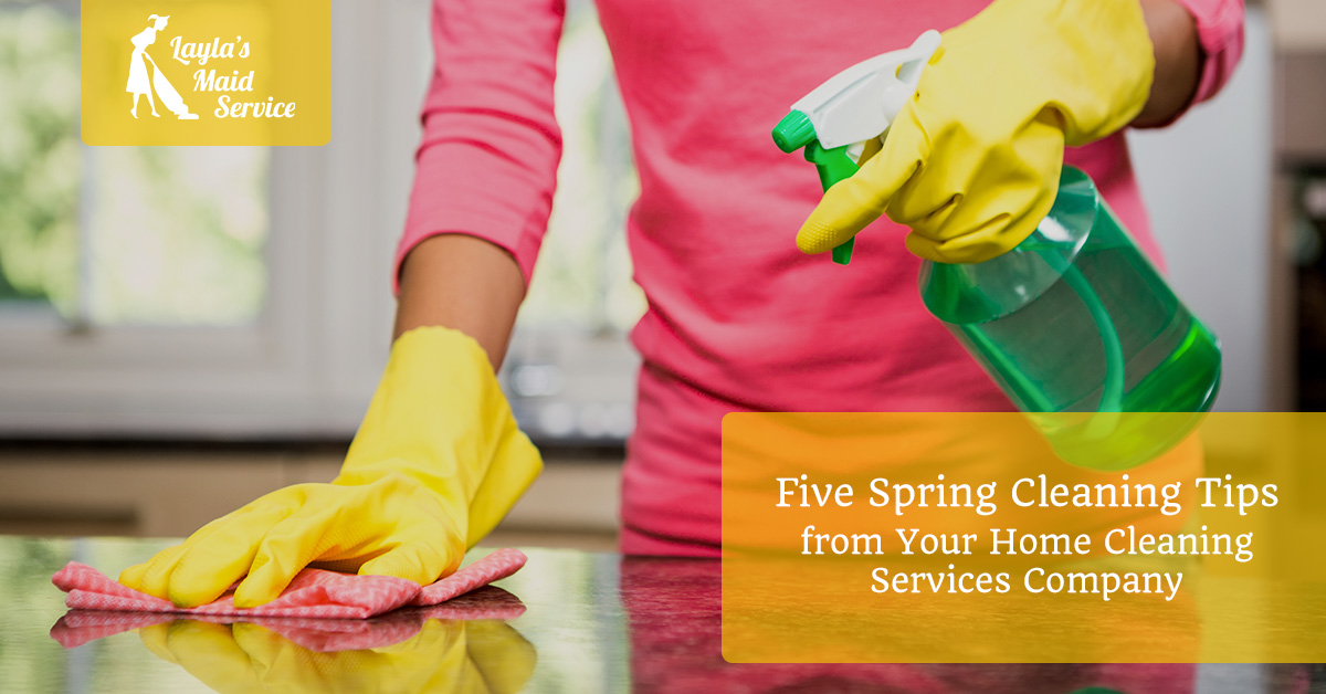 Five Spring Cleaning Tips