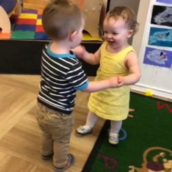 Time to dance at our Rosemount infant care center