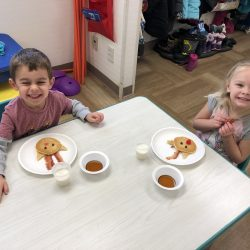 Breakfast at the best child care center in Rosemount