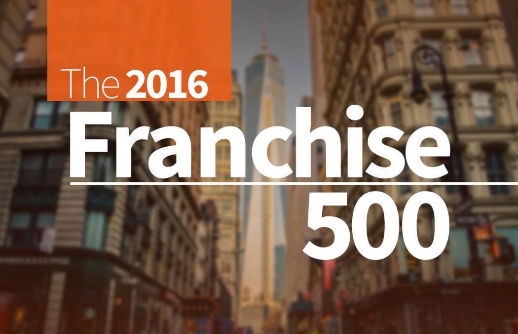 Entrepreneur 500 2016