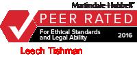 leech-tishman-martindale-peer-review-icon