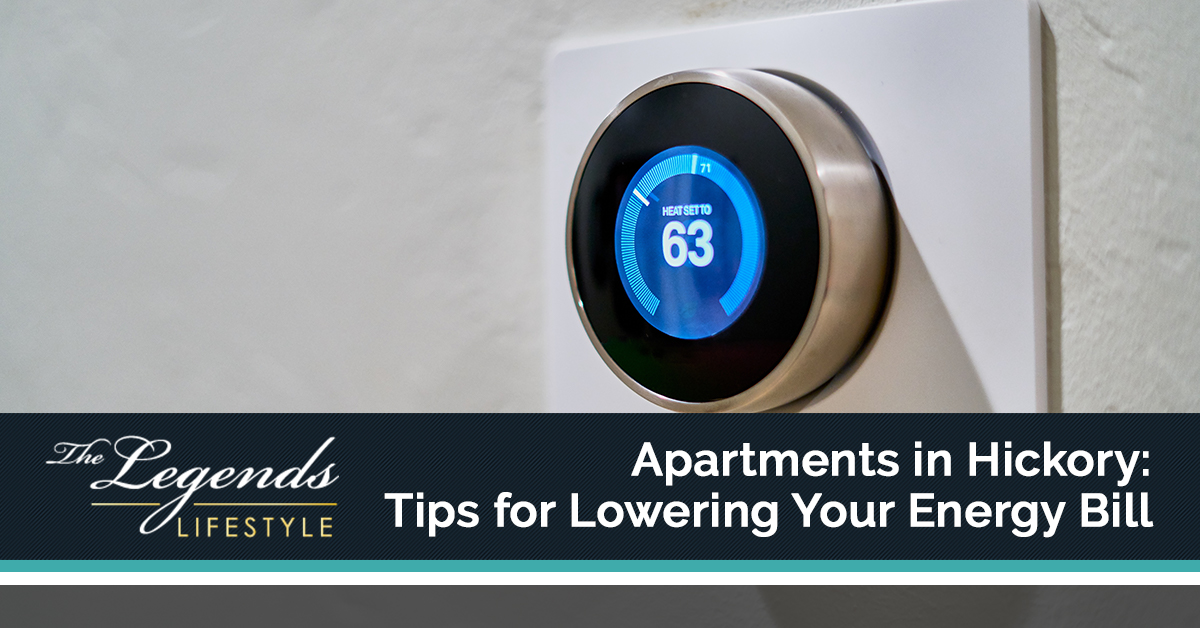 Tips for Lowering Your Energy Bill Hickory Apartments