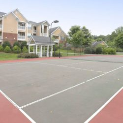Tennis court at The Legends Apartments