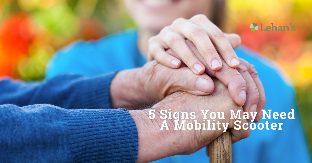 """5 Signs You May Need a Mobility Scooter"""