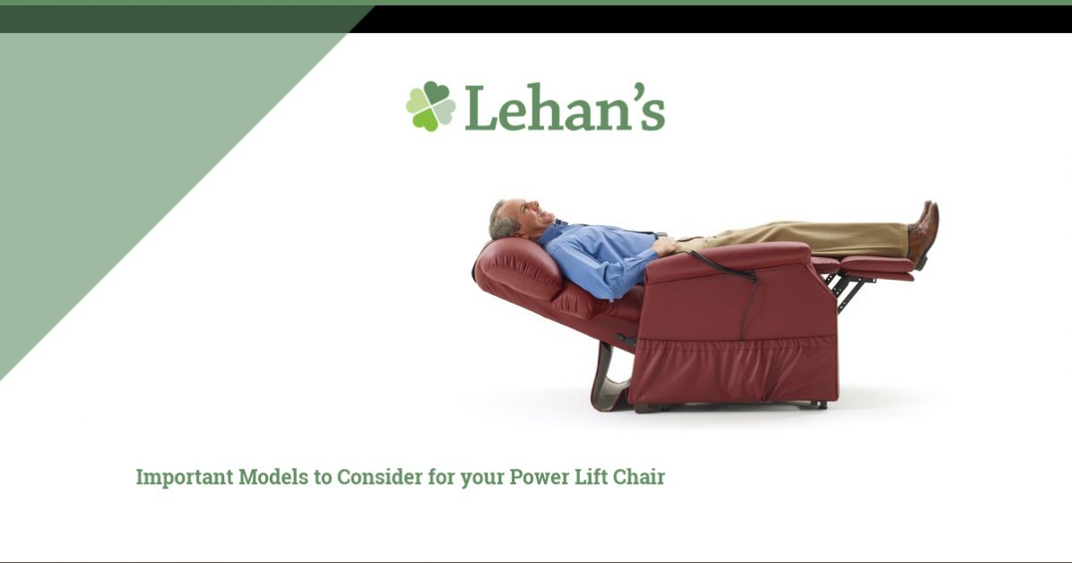 An image of a man relaxing in an recliner.