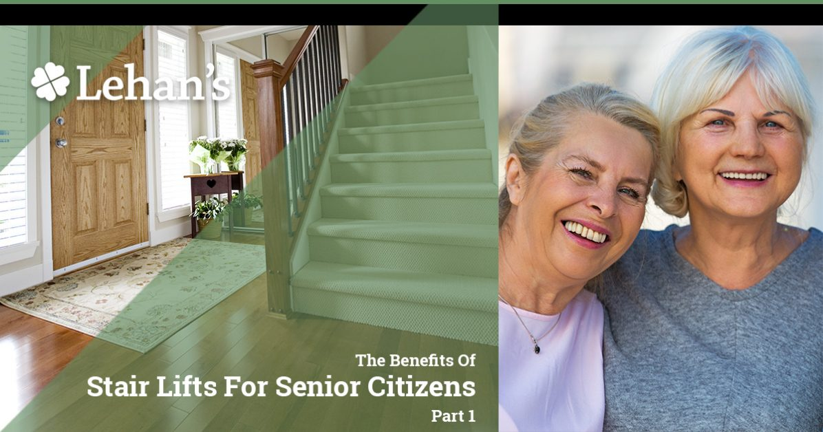 """The Benefits of Stair Lifts for Senior Citizens Part 1"""