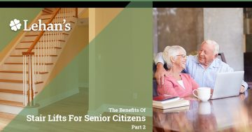 """The Benefits of Stair Lifts for Senior Citizens Part 2"""