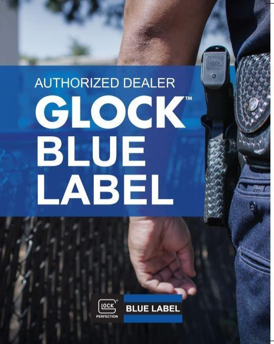 AUTHORIZED DEALER GLOCK BLUE LABEL