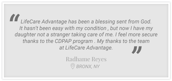 """LifeCare Advantage has been a blessing sent from God..."" Testimonial from Radhame Reyes, Bronx, NY"