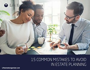 15 Mistakes to Avoice - Estate Planning