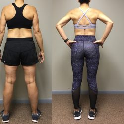 Before and After Results from Lift And Live Fitness!