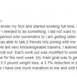 Lift and Live Fitness have very knowledgeable trainers.