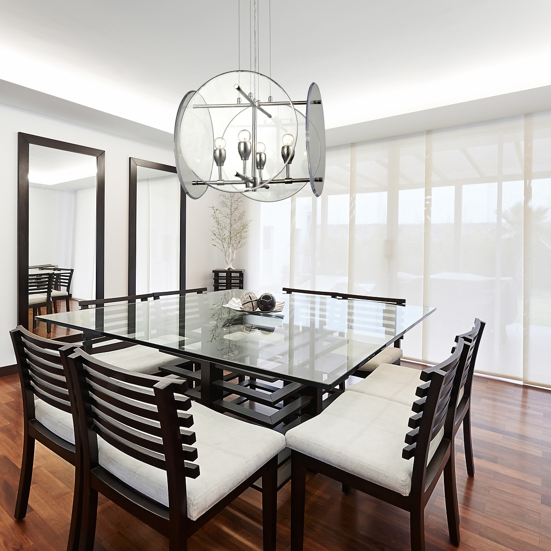 Dining Room Lighting and Mirrors