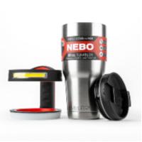 lighted mug tumbler handle holiday gift
