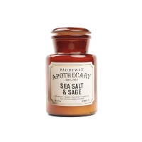 paddywax apothecary sea salt and sage candle holiday gift