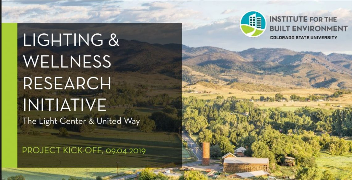 lighting and wellness research initiative fort collins