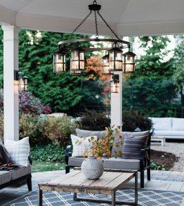 fort collins outdoor lighting chandelier