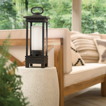 outdoor lantern with bluetooth